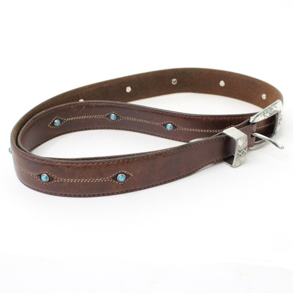 Brighton Other - Cody Turquoise Taper Belt by Brighton Size 40